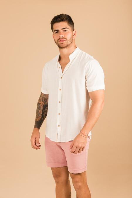 Short Emiliano- palo rosa